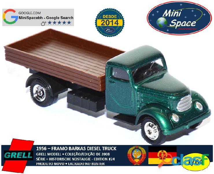 Grell Modell 1956 Framo Robur Granit 32 Diesel Truck 1/64