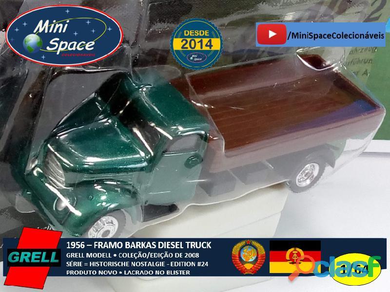 Grell Modell 1956 Framo Robur Granit 32 Diesel Truck 1/64 2
