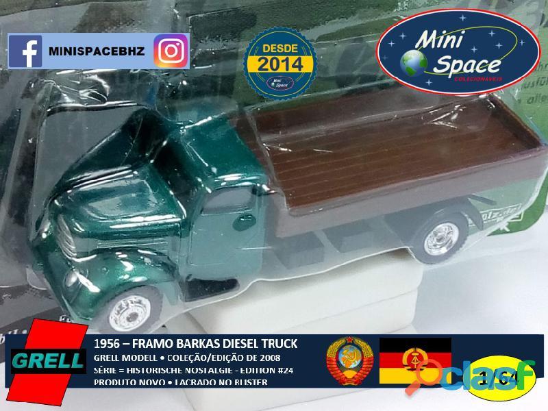 Grell Modell 1956 Framo Robur Granit 32 Diesel Truck 1/64 3