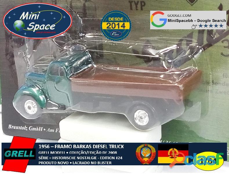 Grell Modell 1956 Framo Robur Granit 32 Diesel Truck 1/64 4
