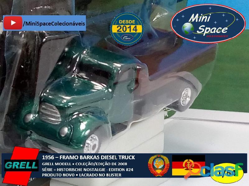 Grell Modell 1956 Framo Robur Granit 32 Diesel Truck 1/64 5