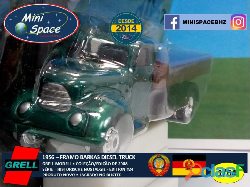 Grell Modell 1956 Framo Robur Granit 32 Diesel Truck 1/64 6