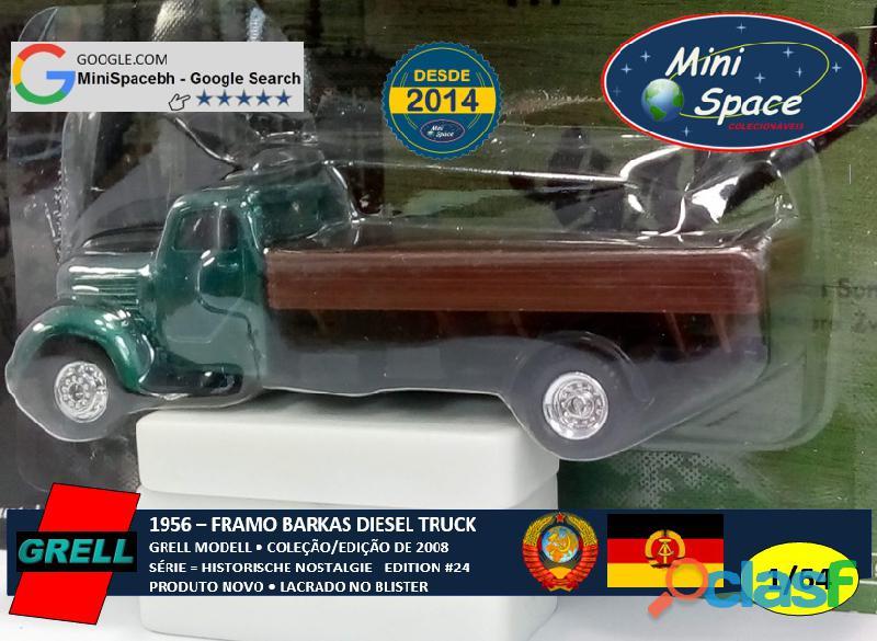 Grell Modell 1956 Framo Robur Granit 32 Diesel Truck 1/64 7