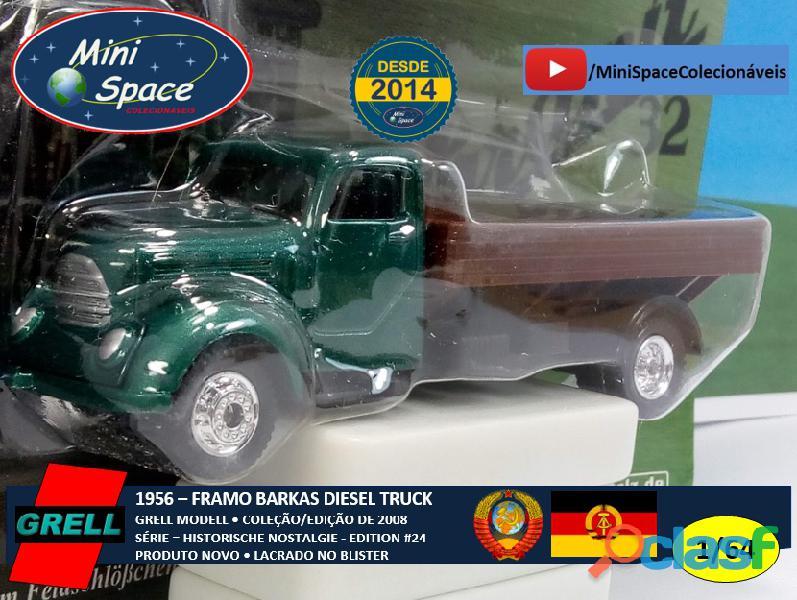 Grell Modell 1956 Framo Robur Granit 32 Diesel Truck 1/64 8