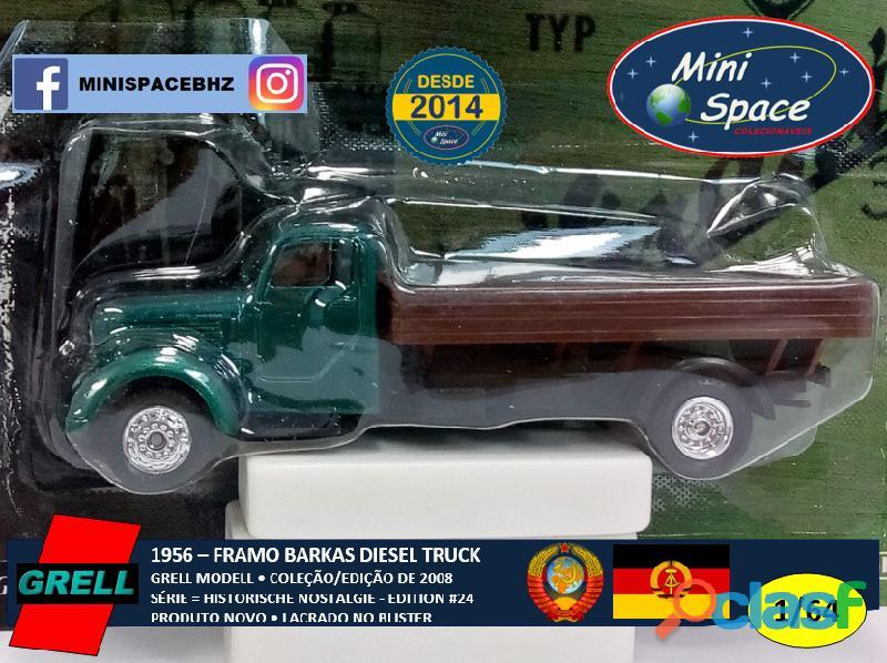 Grell Modell 1956 Framo Robur Granit 32 Diesel Truck 1/64 9