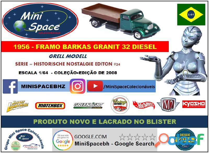 Grell Modell 1956 Framo Robur Granit 32 Diesel Truck 1/64 10