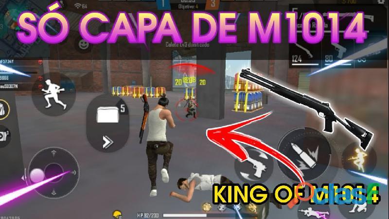 SÓ CAPA DE M1014 NO FREE FIRE no canal fomekill