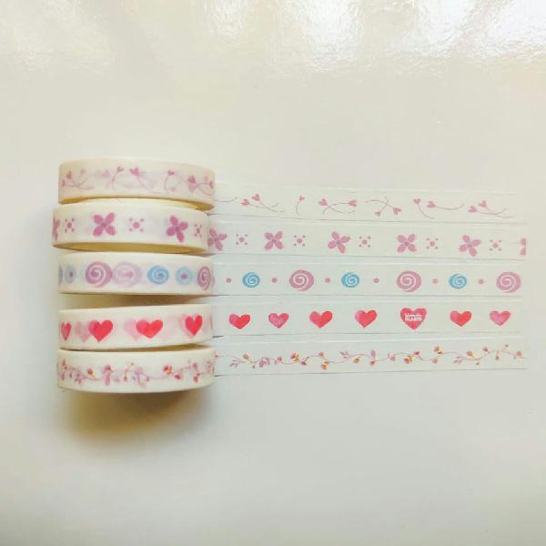5 washi tapes