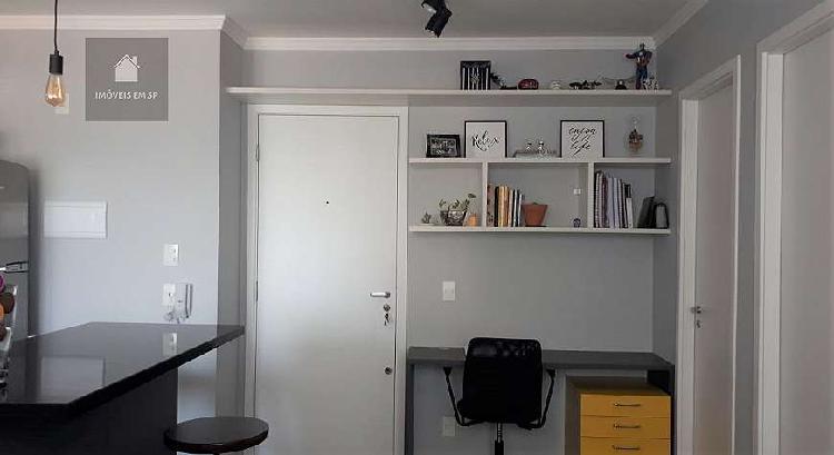 Apartamento a venda - 1 dormitório com piso laminado,