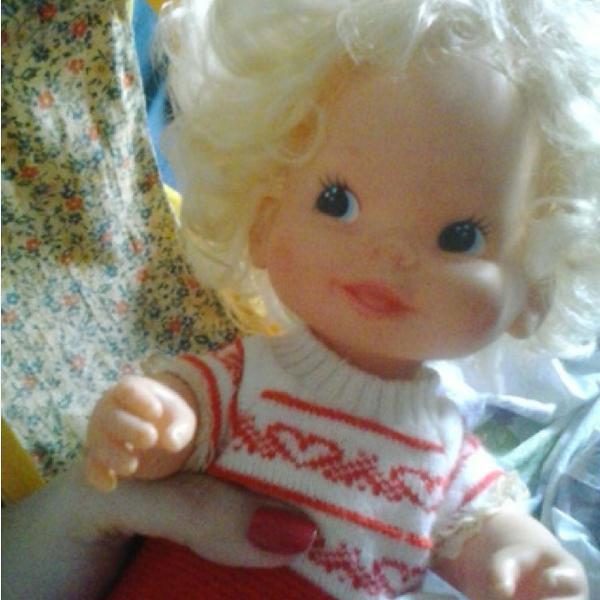 Boneca bebê passinho - estrela anos 80