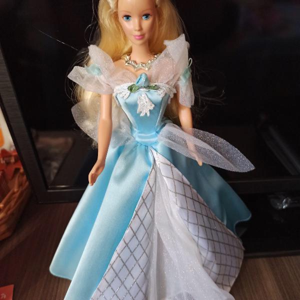 Barbie princesa cinderela - colecionador