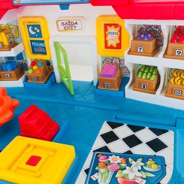 Brinquedo bilingue importado da fisher price - market little