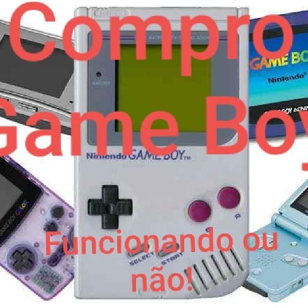 Game boy / gameboy todos modelos