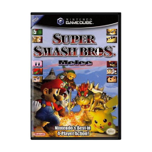 Jogo super smash bros melee - gamecube