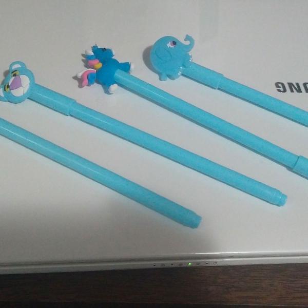 Kit canetas personalizadas
