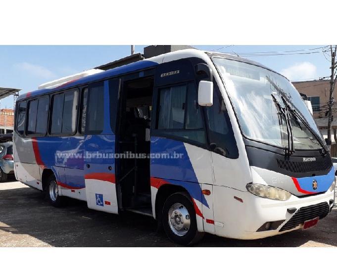 Micro ônibus rodoviário marcopolo senior volks 2008