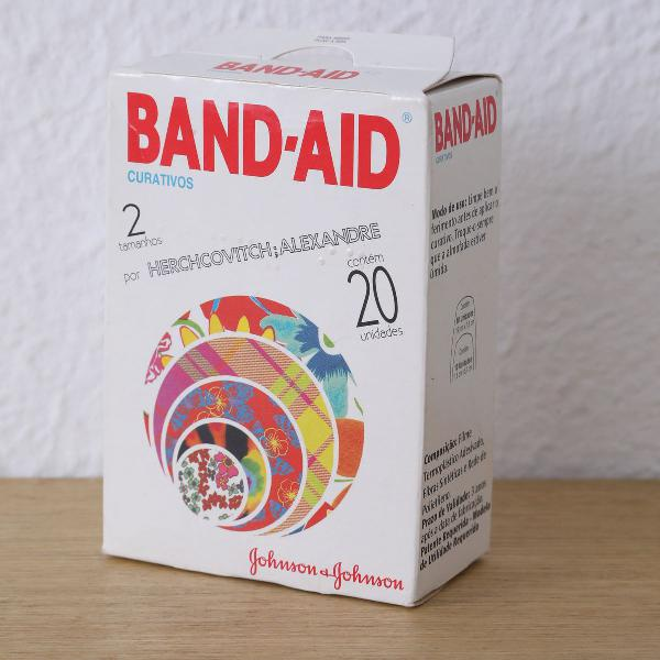Pacote vintage band - aid herchcovitch, alexandre