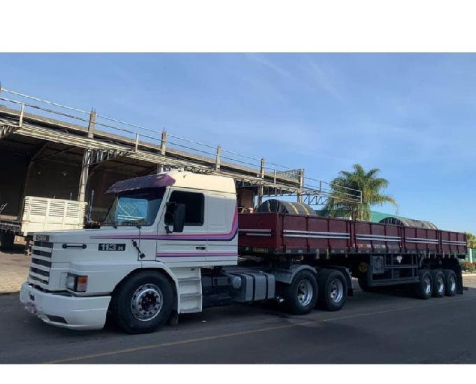 Scania 113 top line ano 98 trucado