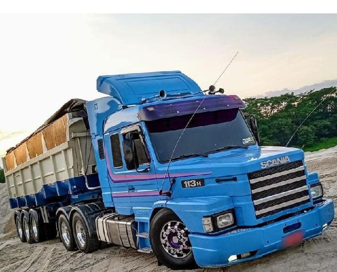 Scania 113h top line ano 97 trucado