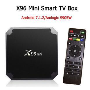 Smarttv box android x96 mini