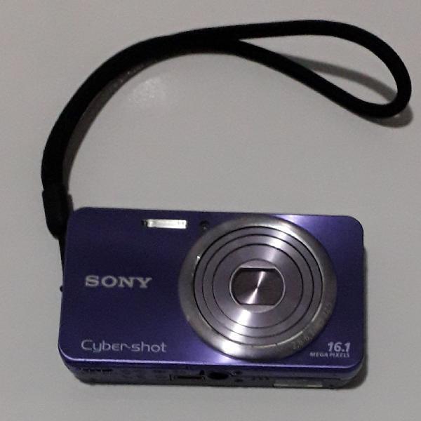 Sony cyber shot câmera digital 16.1 megapixels violeta /
