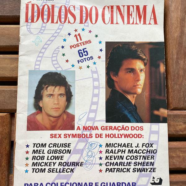 Album idolos do cinema