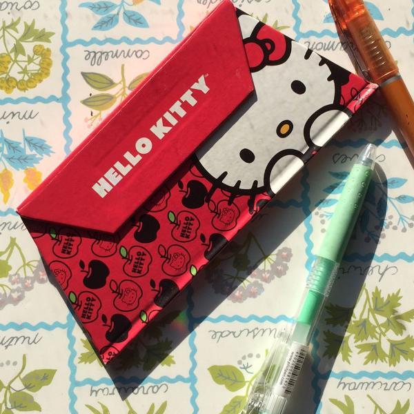 Bloquinho hello kitty novo