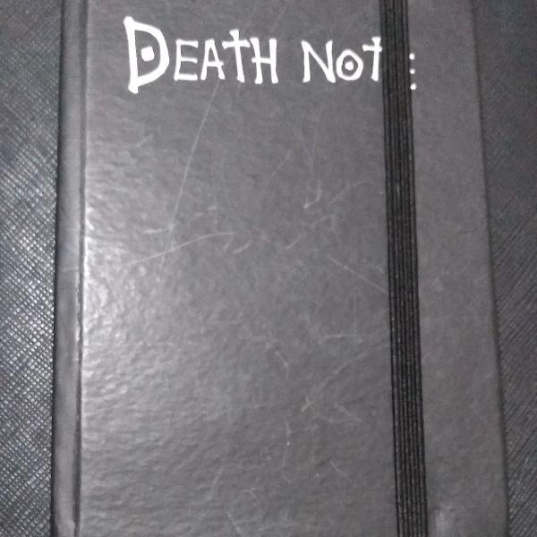 Caderno moleskine death note