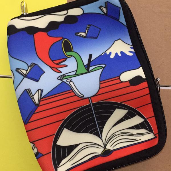 Case de neoprene para livros da tag