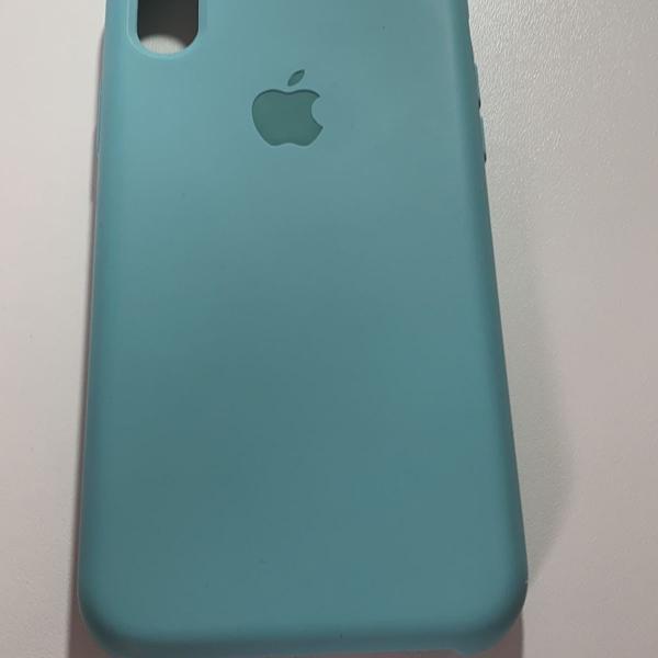 Case verde água iphone xr