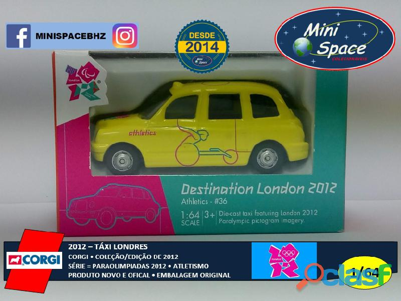 Corgi 2012 Táxi Londres Paraolimpíadas Atletismo 1/64 12