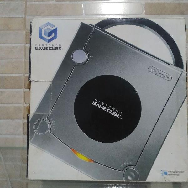 Gamecube desbloqueado completo com jogos originais e