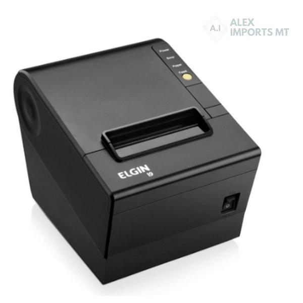 Impressora térmica não fiscal elgin 203dpi i9 usb/ethernet