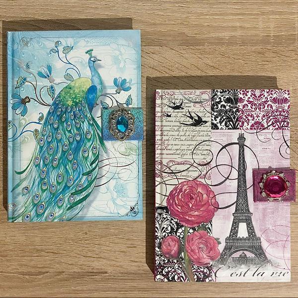 Kit cadernos decorados