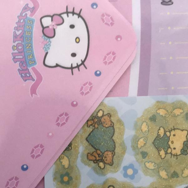 Kit hello kitty lindo! com papéis de carta, envelopes e