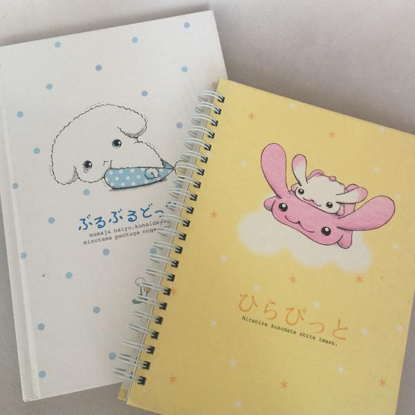 Kit mini cadernos japão