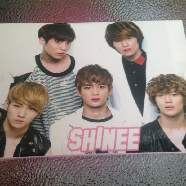 Kpop - blocos de notas - shinee
