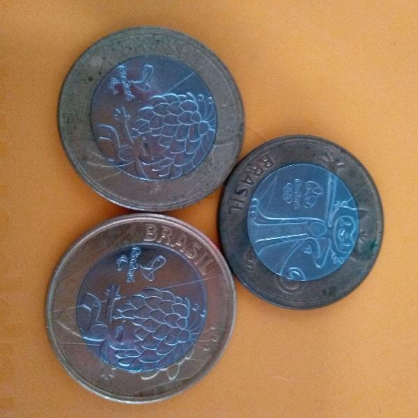 Moedas antigas e moedas brasileiras