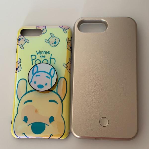 2 capas de iphone 7 plus
