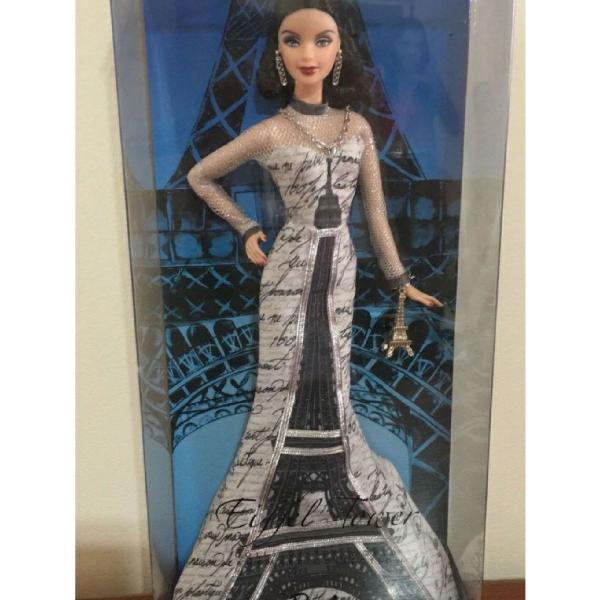 Barbie collector torre eiffel