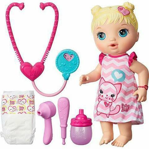 Boneca baby alive médica