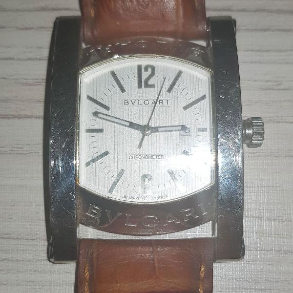 Bulgari assioma chronograph prata