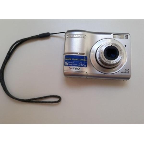 Câmera digital olympus x-760 / 6.0 mp # muito nova #