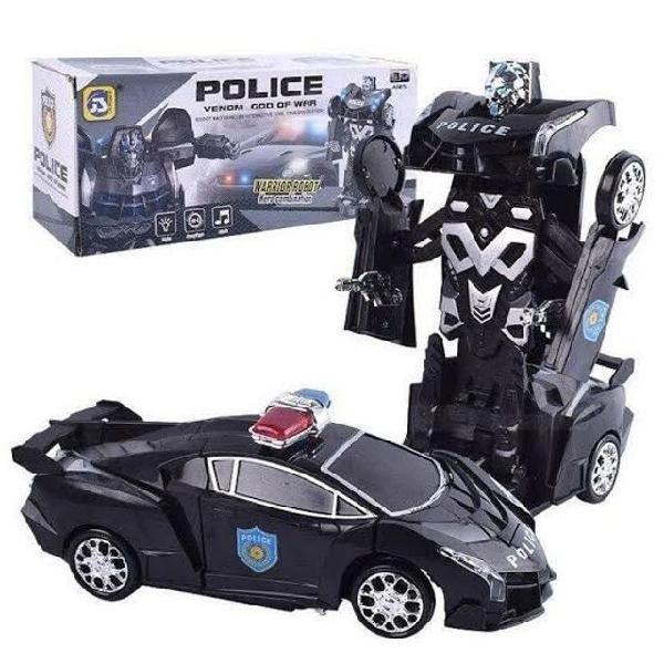 Carrinho transformes policial