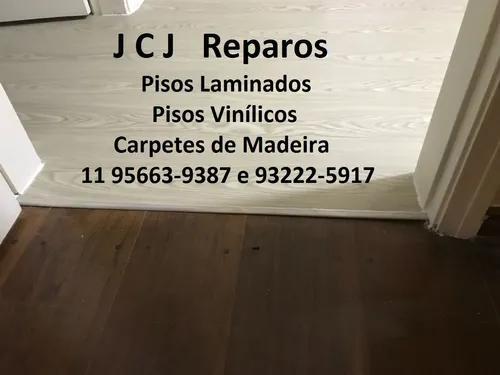 Consertos de pisos laminados, vinílicos e carpetes madeira.