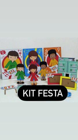 Kit dpa - decoração festa infantil em mdf