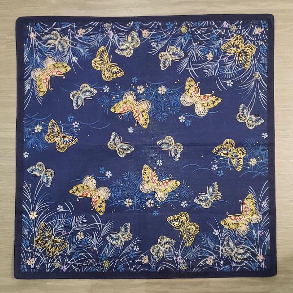Lencinho borboletas japonês
