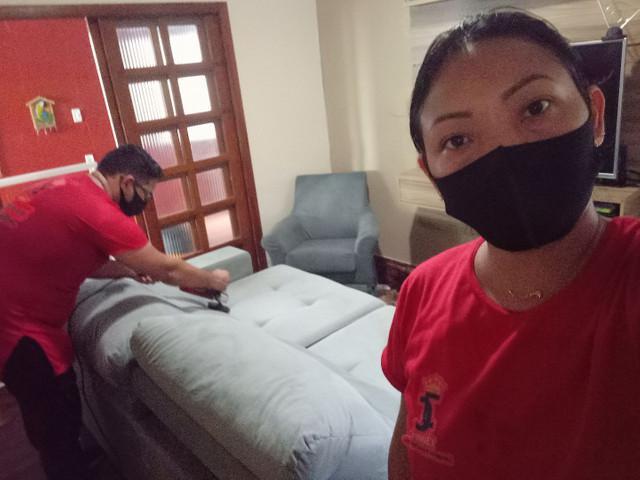 Limpeza de sofás e poltronas a domicílio