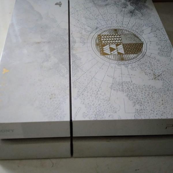 Play station 4 fat 500gb branco versão destiny