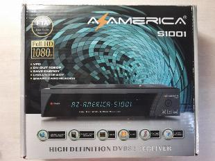 Receptor azamérica s1001 + antena wifi